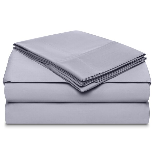 Ansel 500 Thread Count 100% Cotton 4 Piece Sheet Set by Alcott Hill